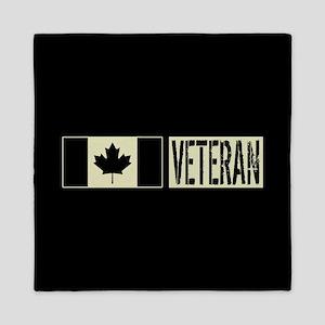Canadian Military: Veteran (Black Flag Queen Duvet