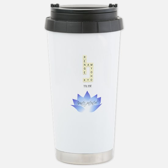 infinite potential - indigo lotus Travel Mug