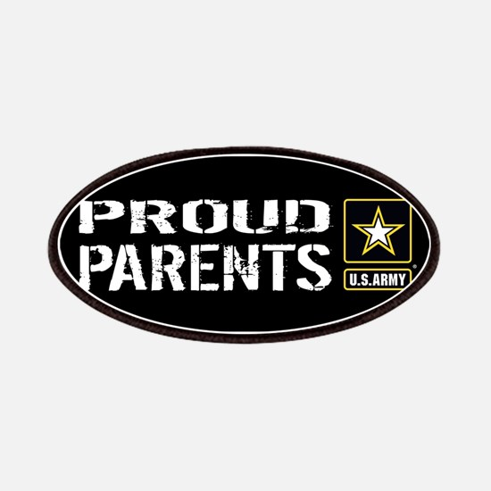 U.S. Army: Proud Parents (Black) Patch