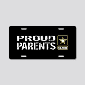 U.S. Army: Proud Parents (B Aluminum License Plate