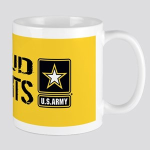 U.S. Army: Proud Parents (Gold) Mug