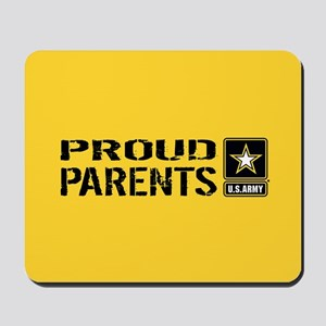 U.S. Army: Proud Parents (Gold) Mousepad