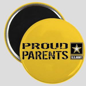 U.S. Army: Proud Parents (Gold) Magnet