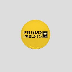 U.S. Army: Proud Parents (Gold) Mini Button