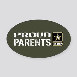 U.S. Army: Proud Parents (Military Oval Car Magnet