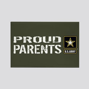 U.S. Army: Proud Parents (Militar Rectangle Magnet