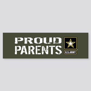 U.S. Army: Proud Parents (Militar Sticker (Bumper)