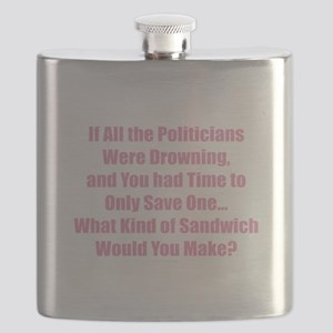Politicians Sandwich Flask