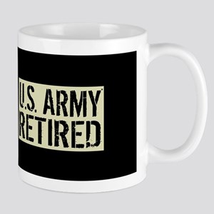 U.S. Army: Retired (Black Flag) Mug