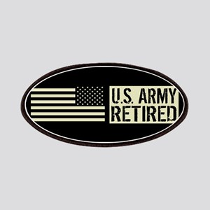 U.S. Army: Retired (Black Flag) Patch