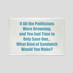 Politicians Sandwich Magnets
