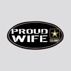 U.S. Army: Proud Wife (Black) Patch
