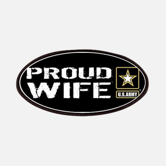 U.S. Army: Proud Wife (Black) Patch