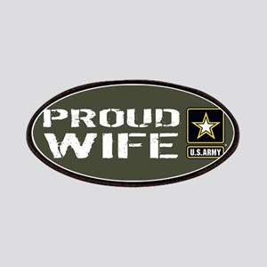 U.S. Army: Proud Wife (Military Green) Patch