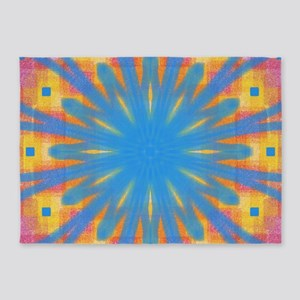 Summer Square 2 5'x7'Area Rug