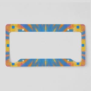 Summer Square 2 License Plate Holder