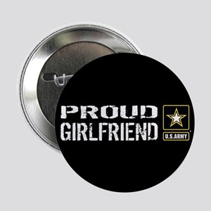 """U.S. Army: Proud Girlfriend 2.25"""" Button (10 pack)"""