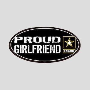 U.S. Army: Proud Girlfriend (Black) Patch