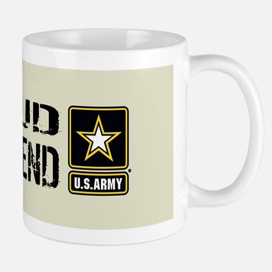 U.S. Army: Proud Girlfriend (Sand) Mug