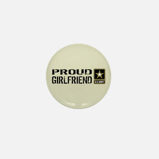 U.S. Army: Proud Girlfriend (Sand) Mini Button