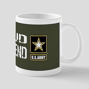 U.S. Army: Proud Girlfriend (Military G Mug