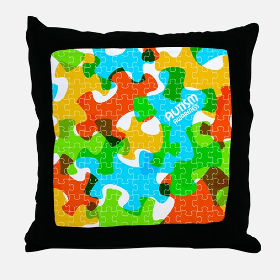 Unique Asd Throw Pillow