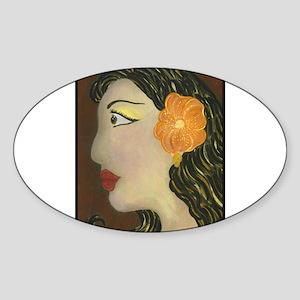 Lolita Oval Sticker