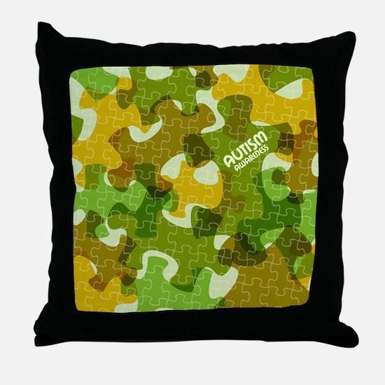 Cute Asd Throw Pillow