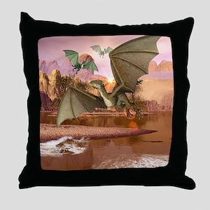 Wyvern Throw Pillow