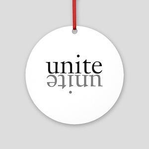 Unite Round Ornament