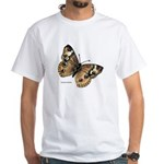 Buckeye Butterfly White T-Shirt