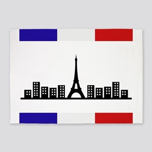 skyline paris 5'x7'Area Rug