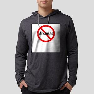 arkansas Mens Hooded Shirt