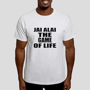 Jai Alai The Game Of Life Light T-Shirt
