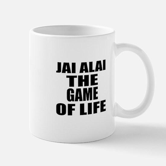 Jai Alai The Game Of Life Mug