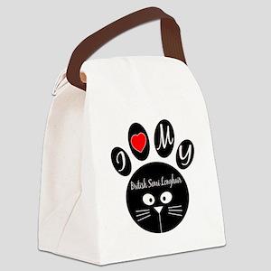 I love my British semi-longhair Canvas Lunch Bag