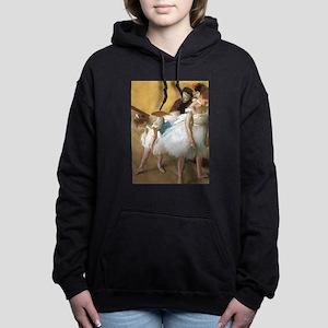 Vintage Ballet by Edgar Women's Hooded Sweatshirt