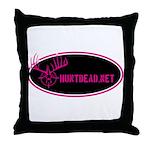 HuntDead.net Throw Pillow