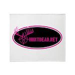 Huntdead.net Throw Blanket
