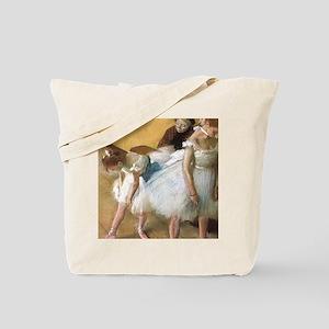 Vintage Ballet by Edgar Degas Tote Bag