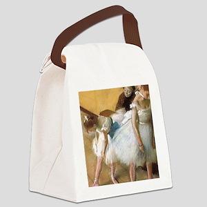 Vintage Ballet by Edgar Degas Canvas Lunch Bag
