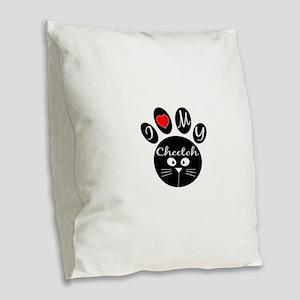 I love my Cheetoh Burlap Throw Pillow