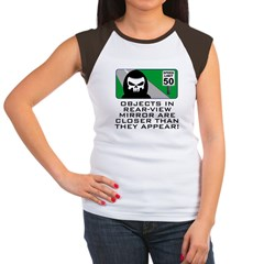 Grim View Women's Cap Sleeve T-Shirt