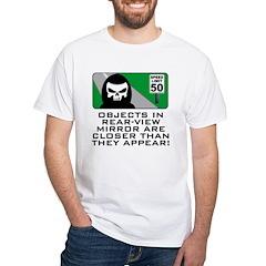 Grim View White T-Shirt