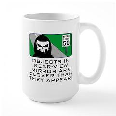 Grim View Large Mug