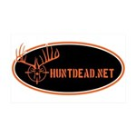 HuntDead.net Wall Decal