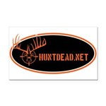 HuntDead.net Rectangle Car Magnet