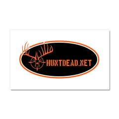 HuntDead.net Car Magnet 20 x 12
