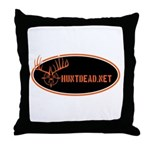 HuntDead.net Throw Pillow
