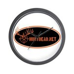 HuntDead.net Wall Clock